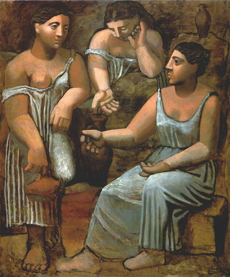 Pablo Picasso Three Women at the Spring