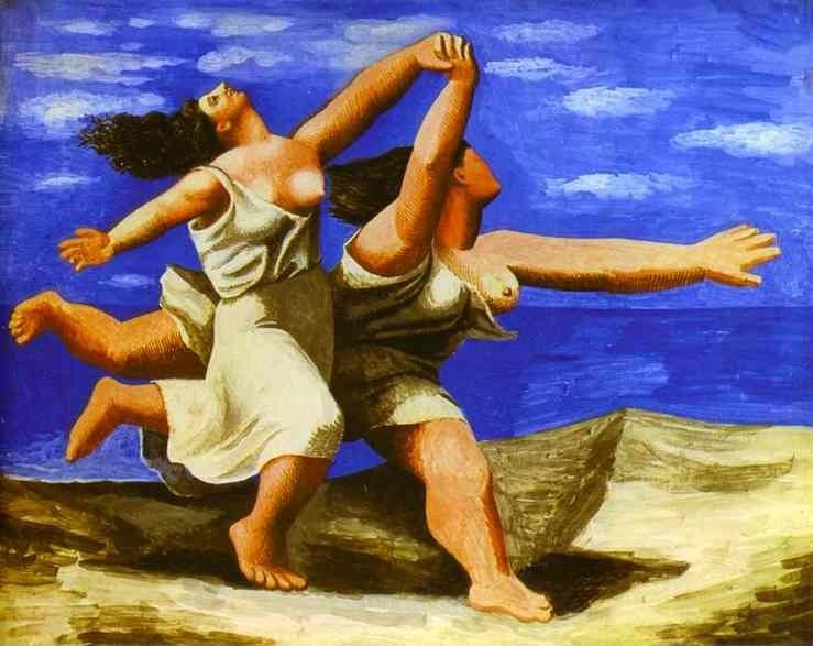 Pablo Picasso Two Women Running on the Beach The Race