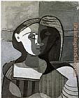 Pablo Picasso Marie Therese Walter 1926 painting