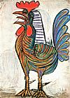Pablo Picasso The Cock 1938 painting