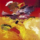 Pascal Magis Yellow and red painting
