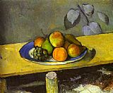 Paul Cezanne Apples Peaches Pears and Grapes painting