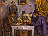 Paul Cezanne Card Players painting