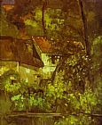 Paul Cezanne House of Pere Lacroix painting