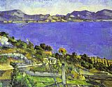 Paul Cezanne L'Estaque painting