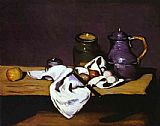 Paul Cezanne Still Life with Kettle painting