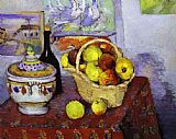 Paul Cezanne Still Life with Soup Tureen painting