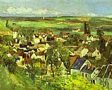 Paul Cezanne View of Auvers painting