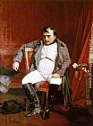 Paul Delaroche Napoleon Emperor Defeated at Fontainebleau painting