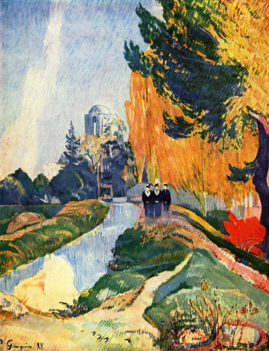 Paul Gauguin Les Alyscamps