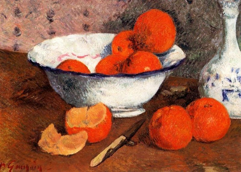 Paul Gauguin Still Life with Oranges