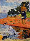 Paul Gauguin Haere Pape painting