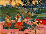 Paul Gauguin Nave Nave Moe painting