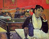 the cafe terrace Paintings - Night Cafe at Arles