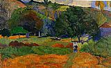 Paul Gauguin The Little Valley painting