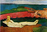 Paul Gauguin The Loss of Virginity painting