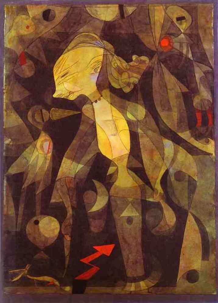 Paul Klee A Young Lady's Adventure