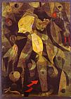 Paul Klee A Young Lady's Adventure painting