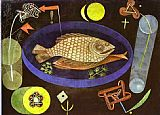 Paul Klee Around the Fish painting