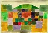 Paul Klee Dunenlandschaft painting