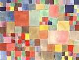 Paul Klee Flora on Sand painting