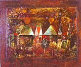 Paul Klee Nocturnal Festivity painting