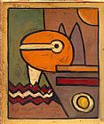 Abstract paintings - Paul Klee 1914 by Paul Klee