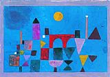 Paul Klee Red Bridge painting