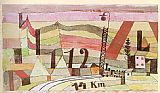 Paul Klee Station L 112 painting