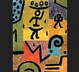 Abstract paintings - Zitronen by Paul Klee