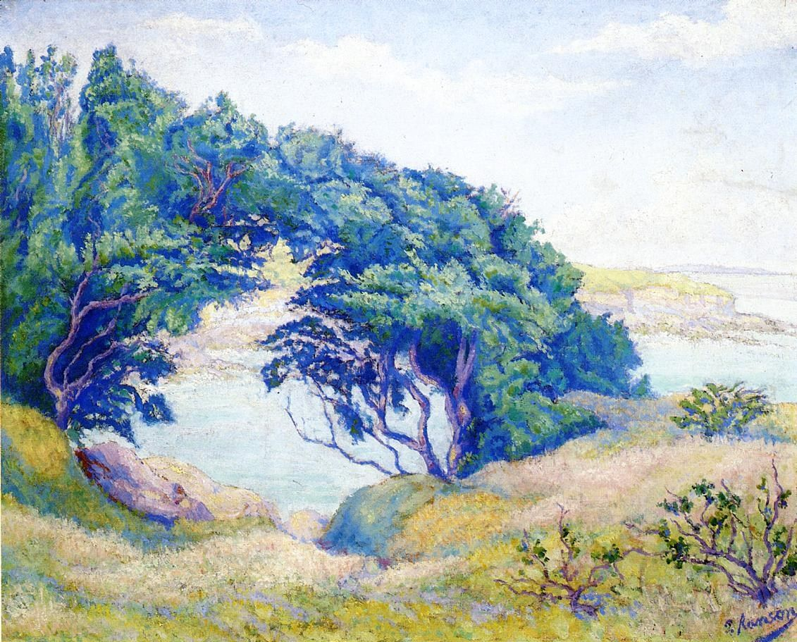 Paul Ranson By the Sea, Brittany