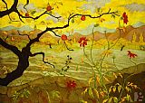 Paul Ranson Apple Tree With Red Fruit painting
