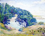 Paul Ranson By the Sea, Brittany painting