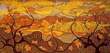 Paul Ranson The Vines painting
