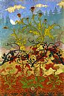 Paul Ranson Thistle and Digitales painting