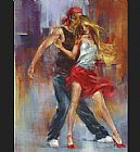 emotional dance Canvas Prints - Street Dance