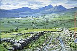 Peter Ellenshaw County Mayo, Ireland painting