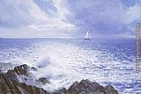 Peter Ellenshaw Solitary Mariner painting