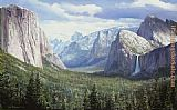 Peter Ellenshaw Yosemite Valley painting