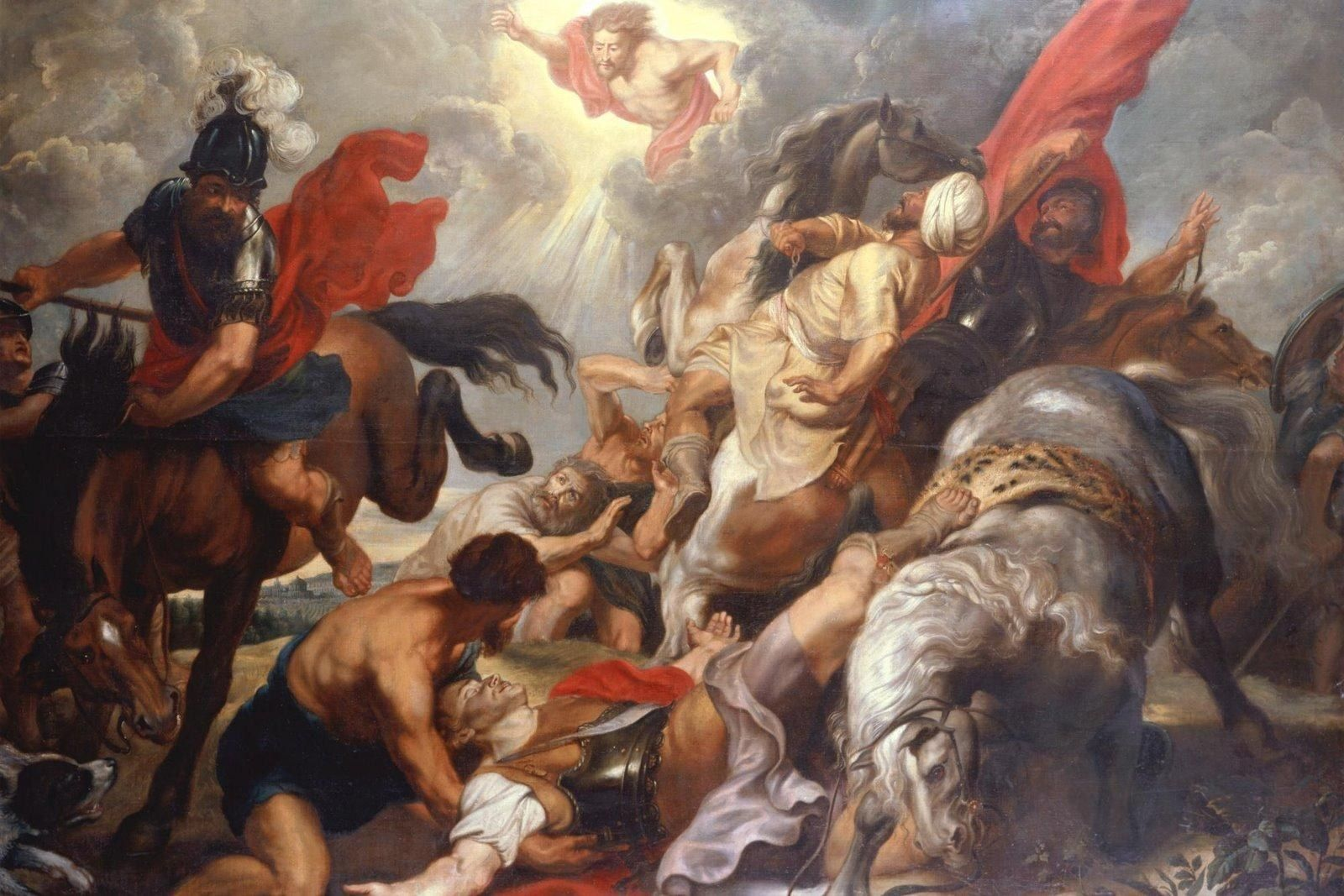 Peter Paul Rubens The Conversion of St. Paul