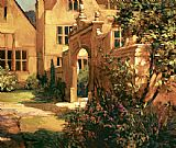 Philip Craig Sunlit Courtyard painting