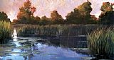 Philip Craig The Lily Pond painting