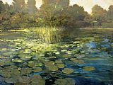 Philip Craig Waterlilies painting
