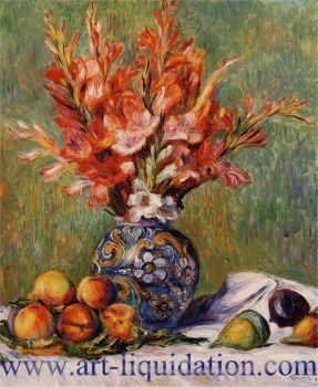 Pierre Auguste Renoir Flowers Fruit