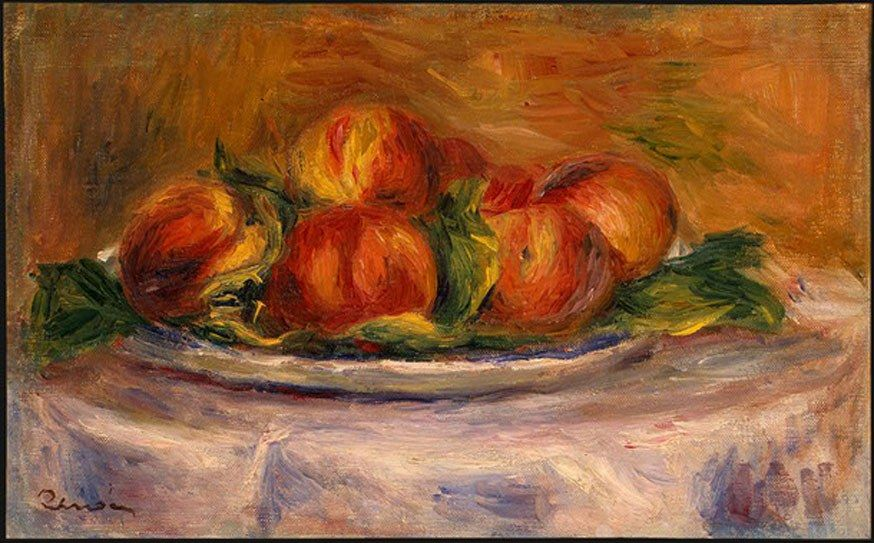 Pierre Auguste Renoir Peaches on a Plate