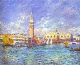 Church paintings - Doges' Palace, Venice by Pierre Auguste Renoir