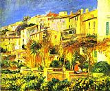 two sisters on the terrace Canvas Prints - Terrace at Cagnes