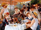 Pierre Auguste Renoir The Boating Party Lunch I painting