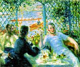 Pierre Auguste Renoir The Canoeists' Luncheon painting
