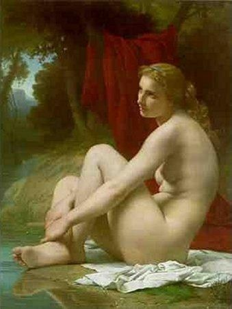 Pierre-Auguste Cot A Bather